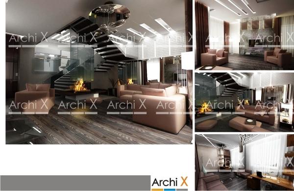 Дизайн проект интерьера квартиры в г